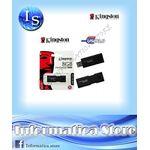 Chiavetta Pendriver Kingston dataTraveler 100 8GB USB 3.0 - CT-DT100G38GB
