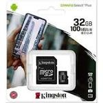 Memoria Micro SD 32GB  KINGSTON SDCS2/32GB CANVAS SELECT PLUS - CT-SDCS2/32GB