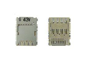 Lettore Memory card reader a saldare con Lettore Sim Samsung GALAXY S5 G900 G900F G530 i9301 g360 J200 - CT-SIMI9301